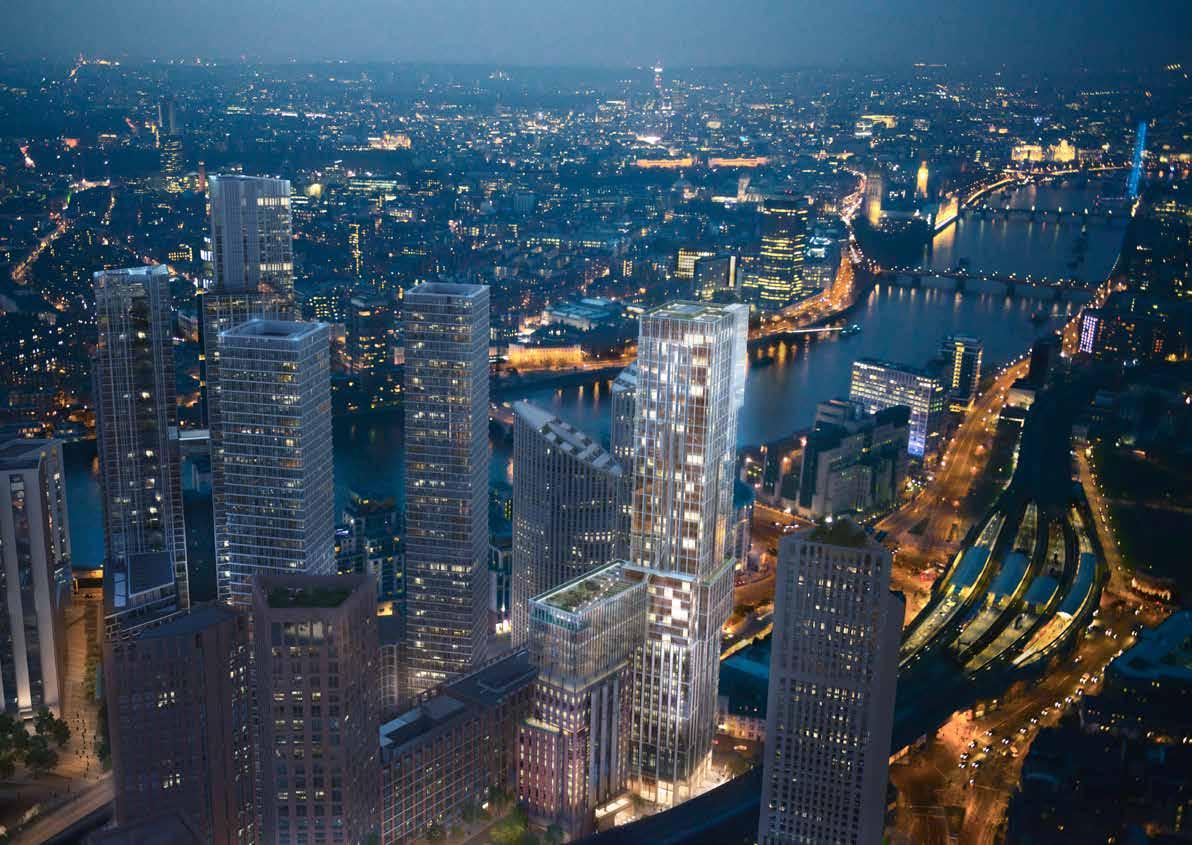 AYKON London One,Aerial