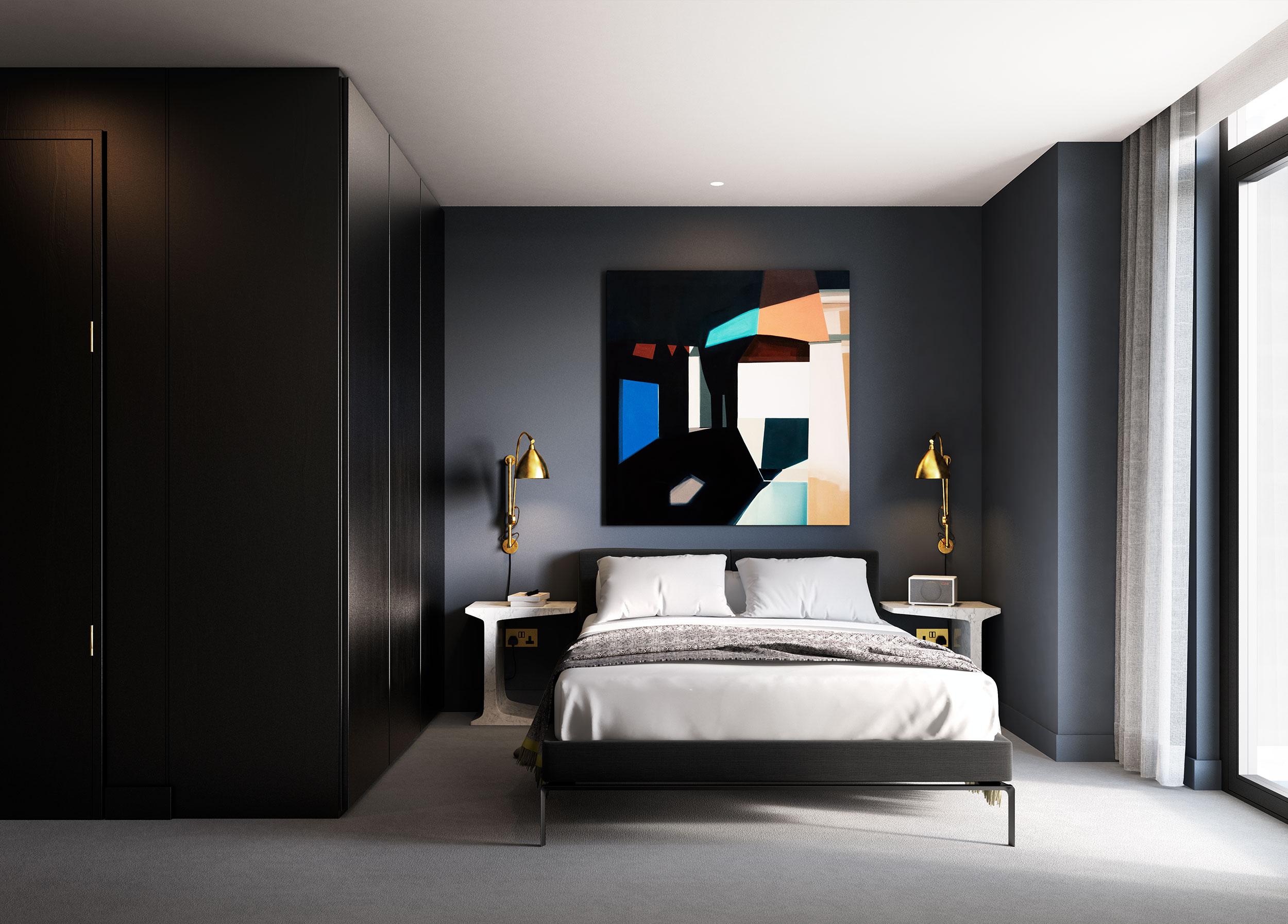 The Waterman,Master Bedroom