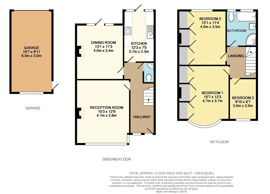 St Jamess Avenue Beckenham BR3 3 Bedroom Terraced