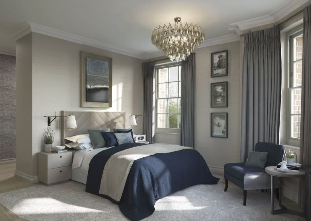 Hampstead Manor development,Master Bedroom