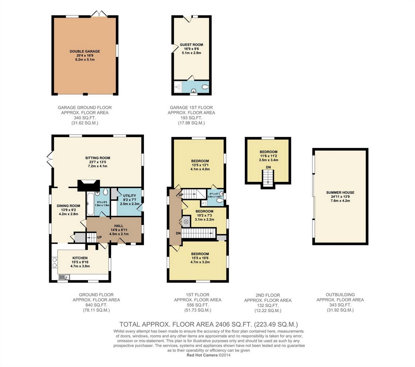 Manor farm oast love lane headcorn kent tn27 5 bedroom for The headcorn minimalist house kent