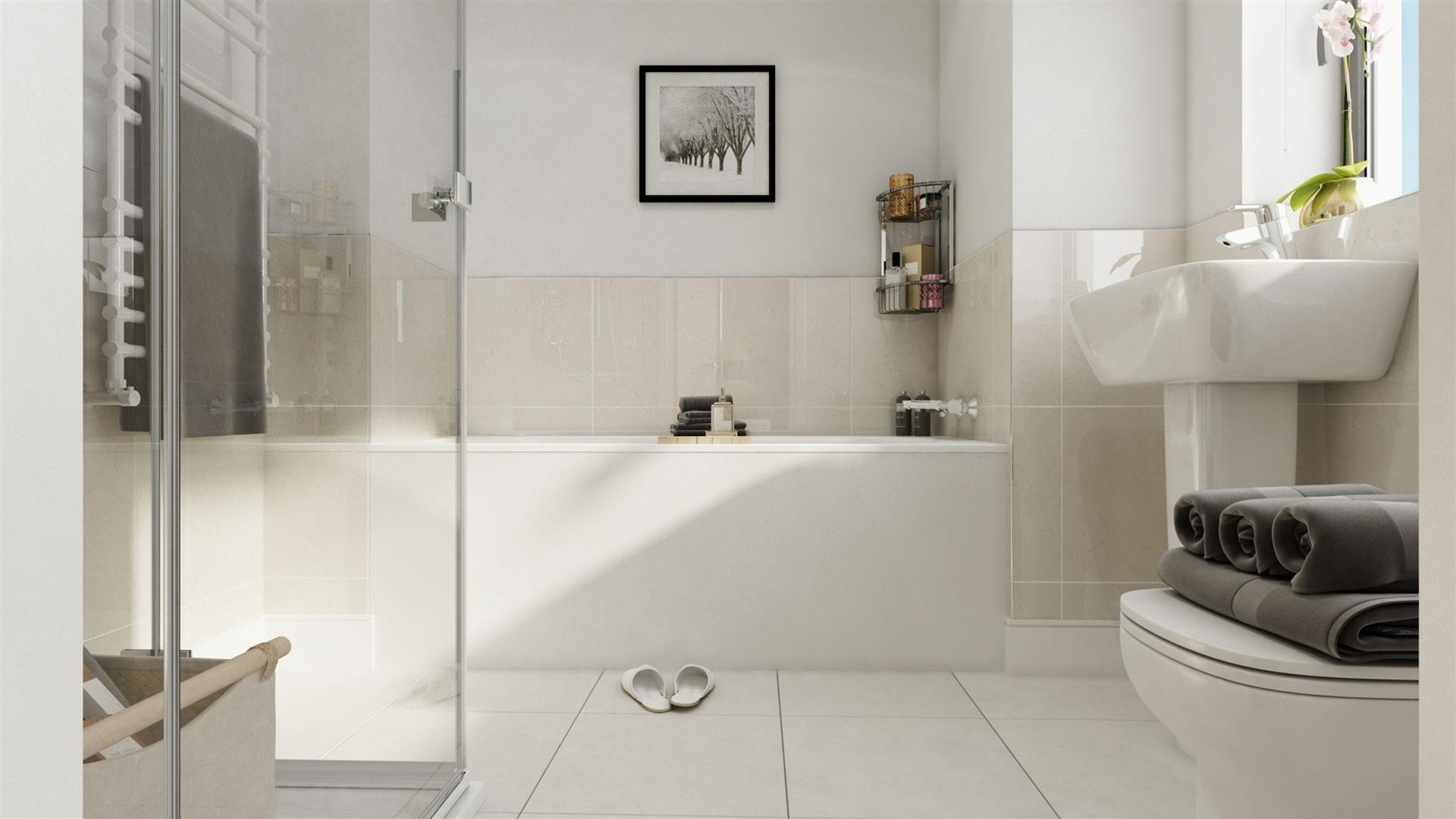 St Modwen Homes,Bathroom