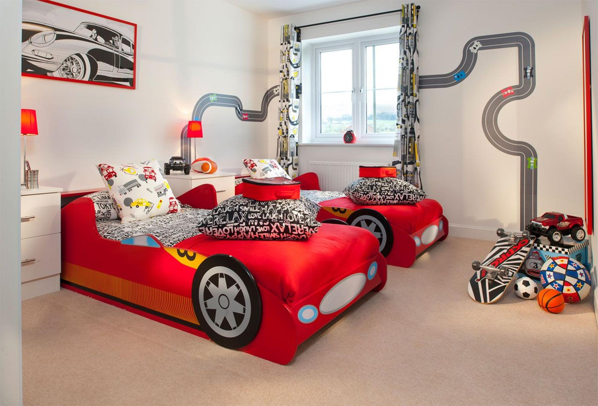 Car Beds For Boys Twin - Toddler race car beds this isn t just a bedroom it s another universe