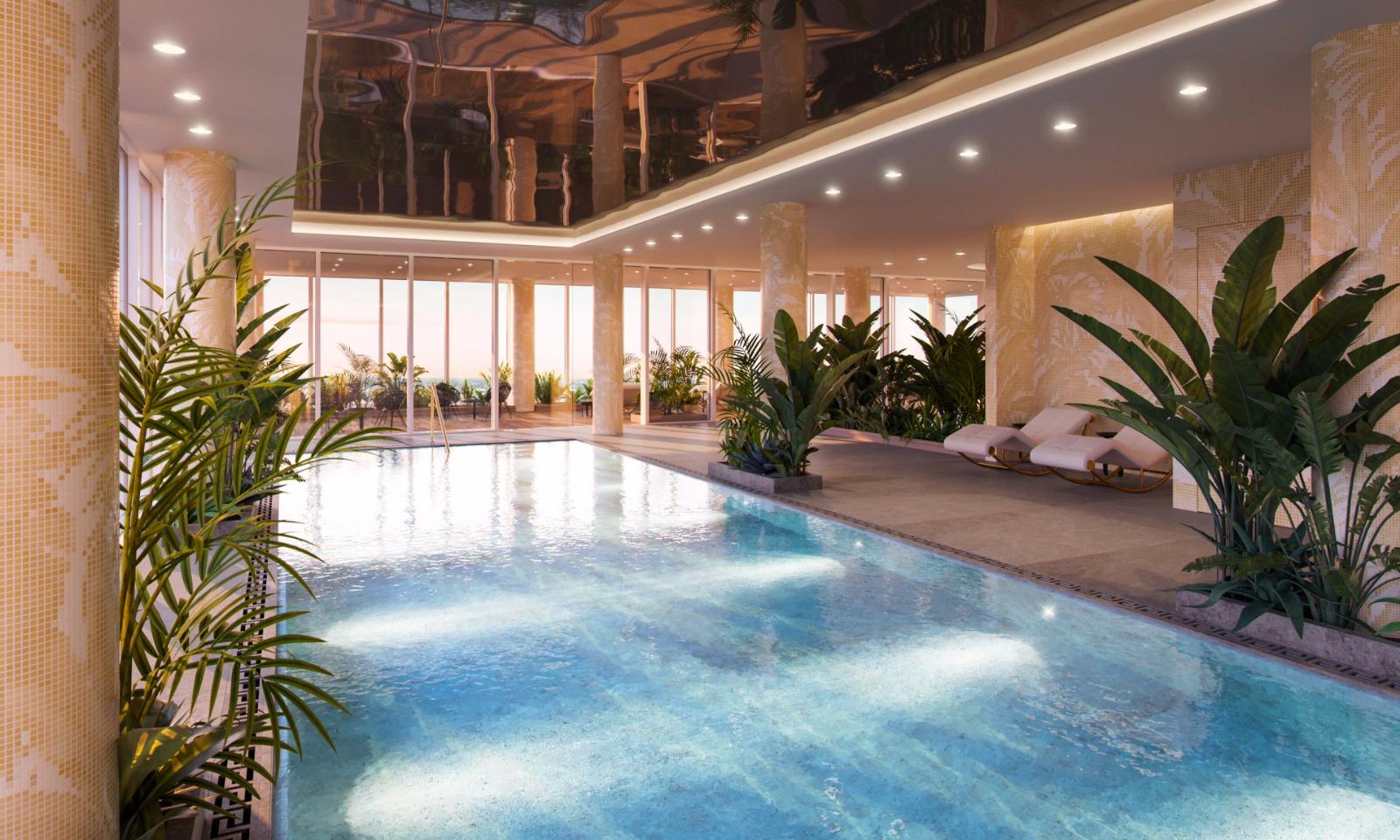 AYKON London One,Pool & Sport