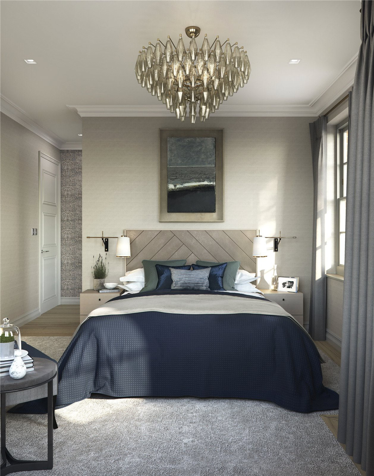 Hampstead Manor development,Master Bedroom