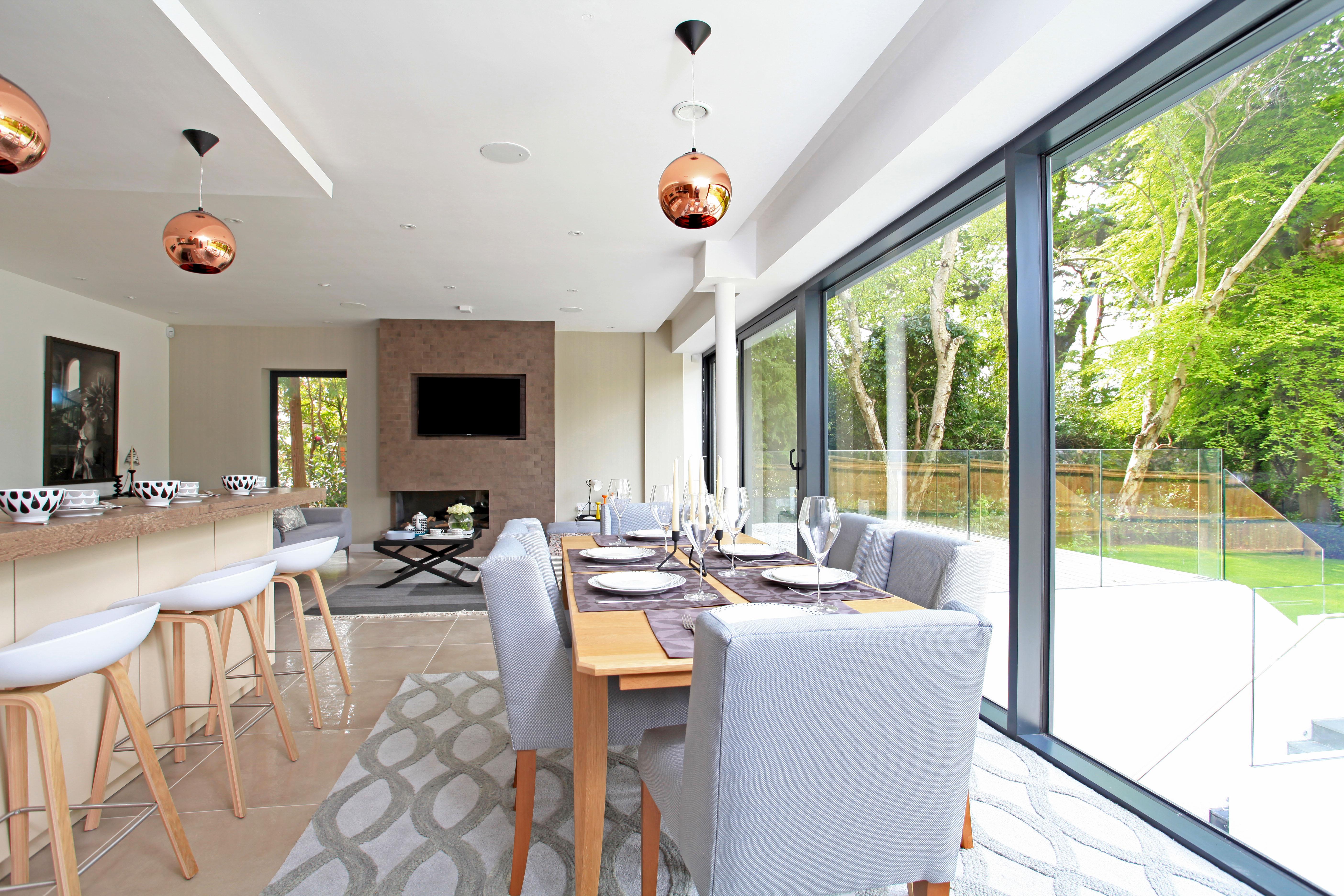 Builtform Developments,Dining room