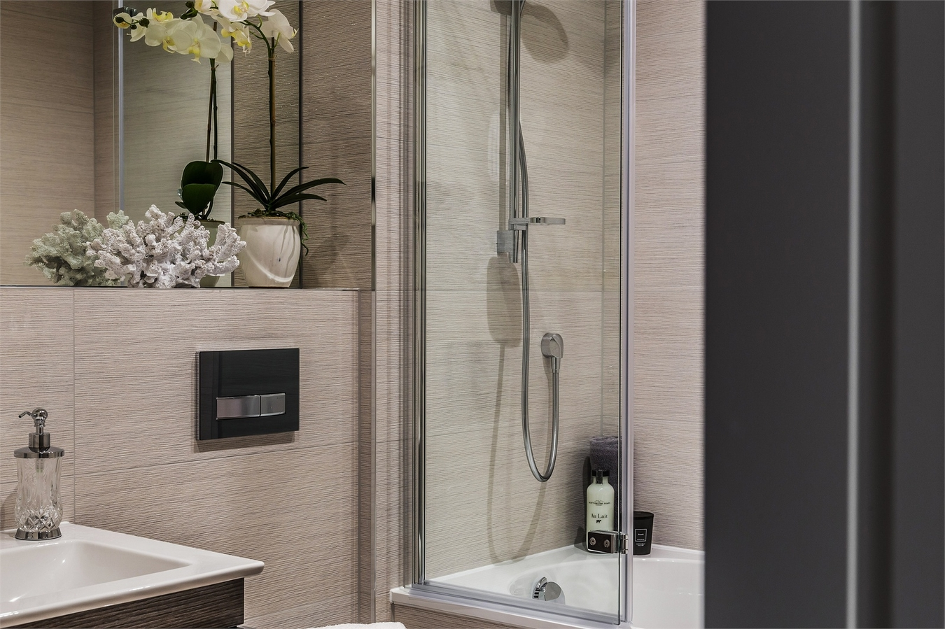 Megaflo,Bathroom detail