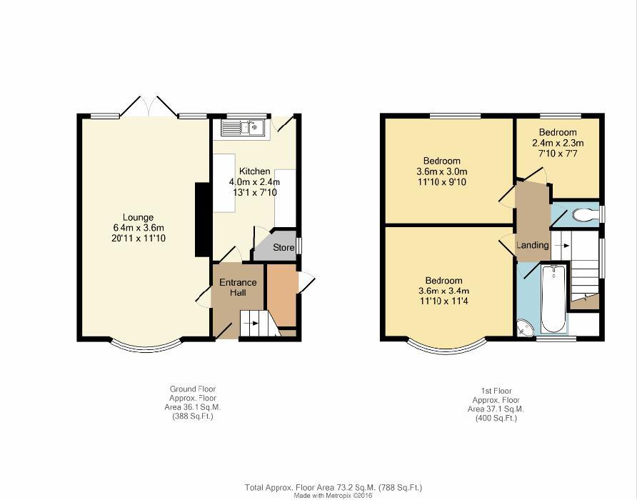 Greystones Hall Road Sheffield S11 3 Bedroom Semi