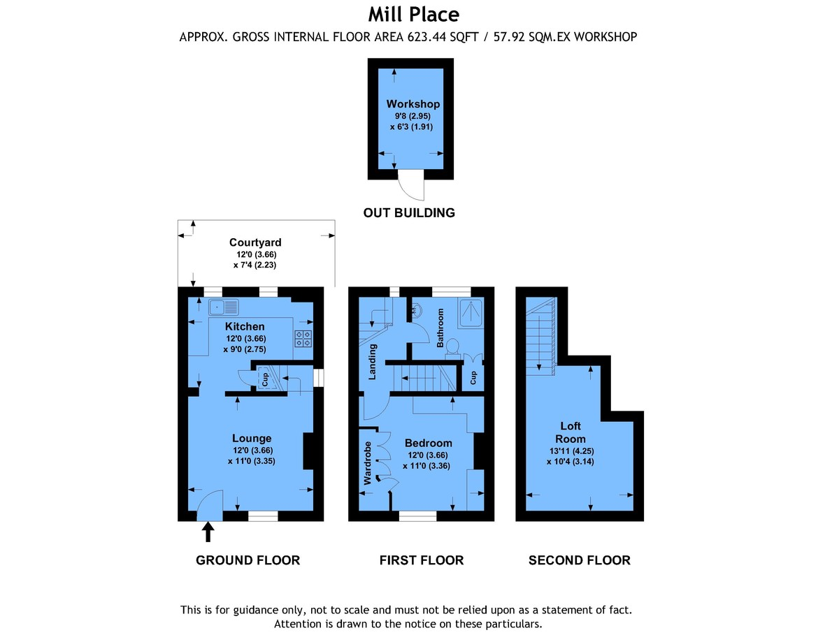 Mill place chislehurst br7 1 bedroom end terrace house for 11242 mill place terrace