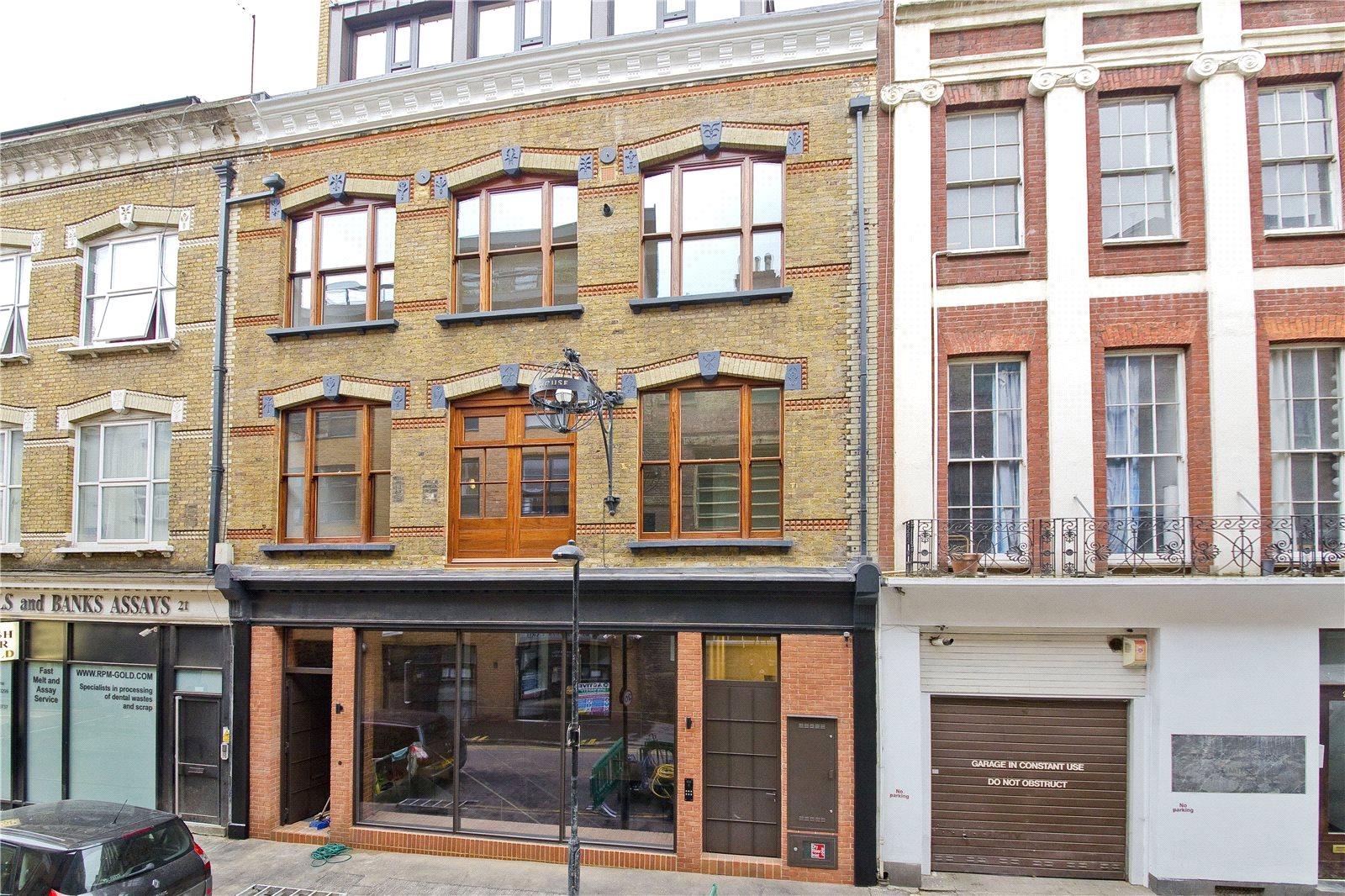 1 Bedroom Flat To Rent In Hatton Wall Clerkenwell Ec1n London