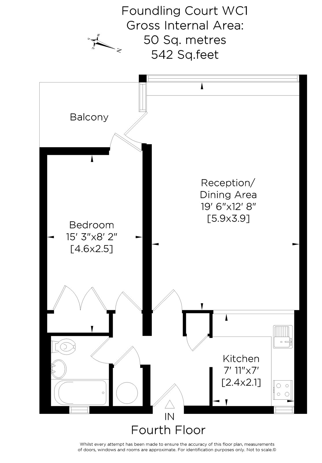 1 bed flat for sale in foundling court brunswick centre for Sport court cost per square foot