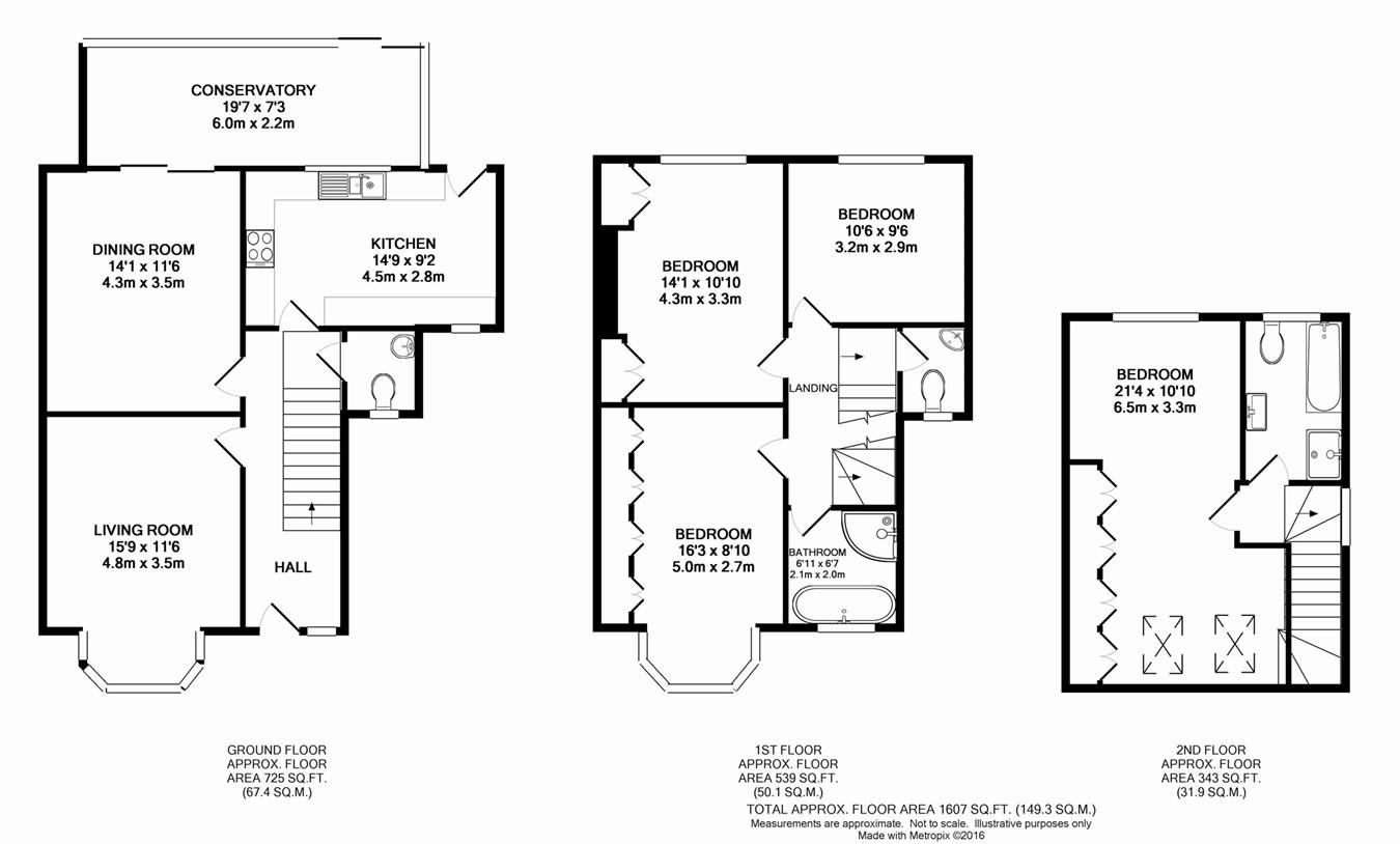Eden Park Avenue Beckenham BR3 4 Bedroom Semi Detached