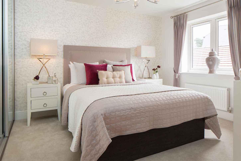Linden Homes,Master Bedroom