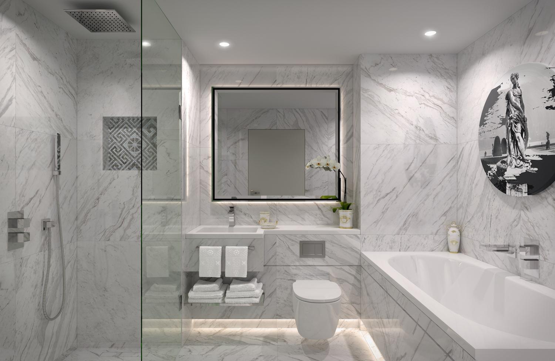AYKON London One,Bathroom
