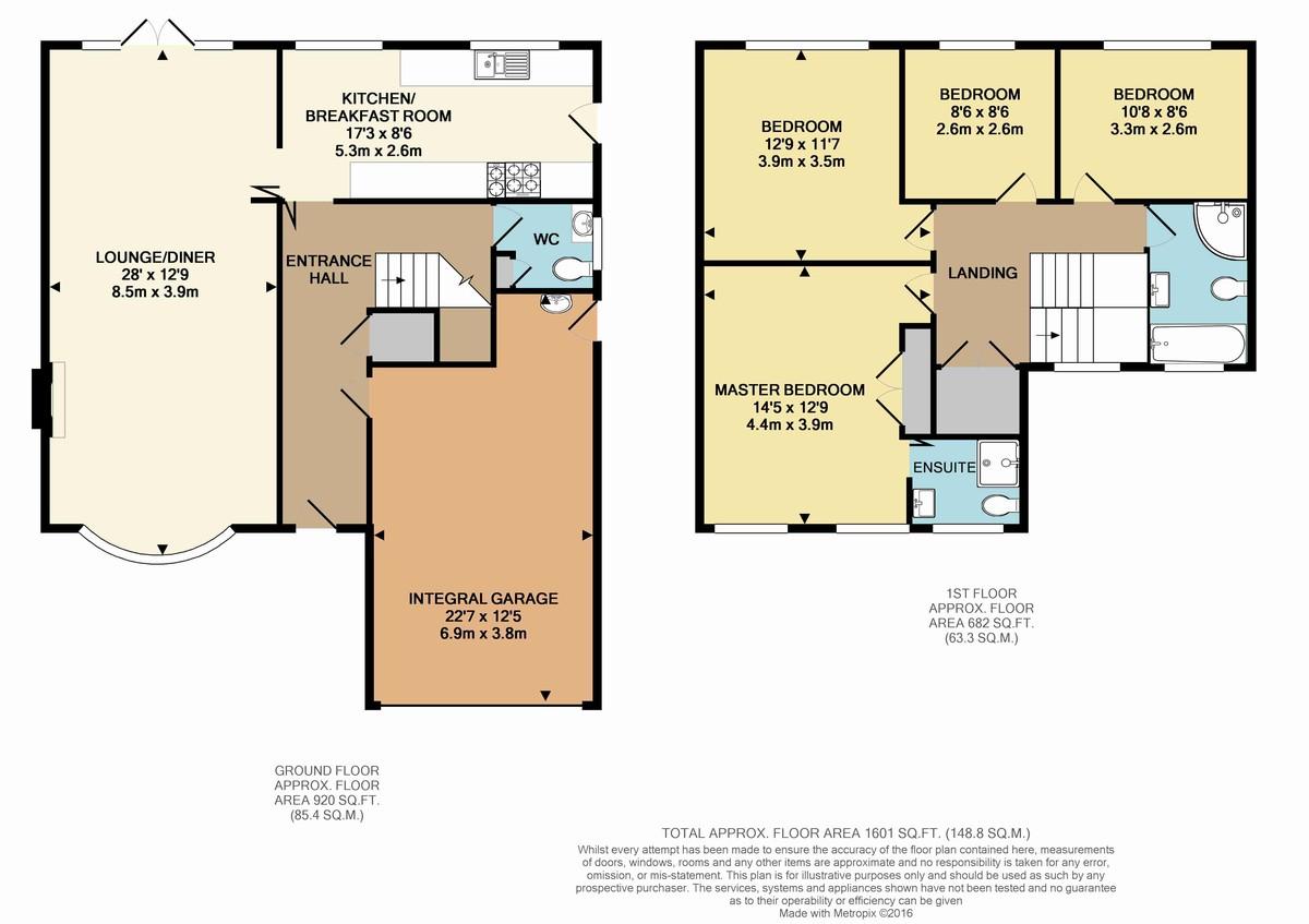 Park Avenue Bromley BR1 4 Bedroom Detached House For