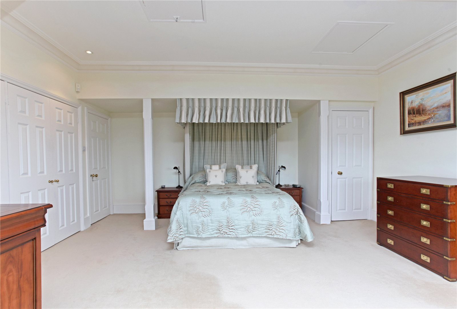 Michael Wilson Restorations,Master Bedroom