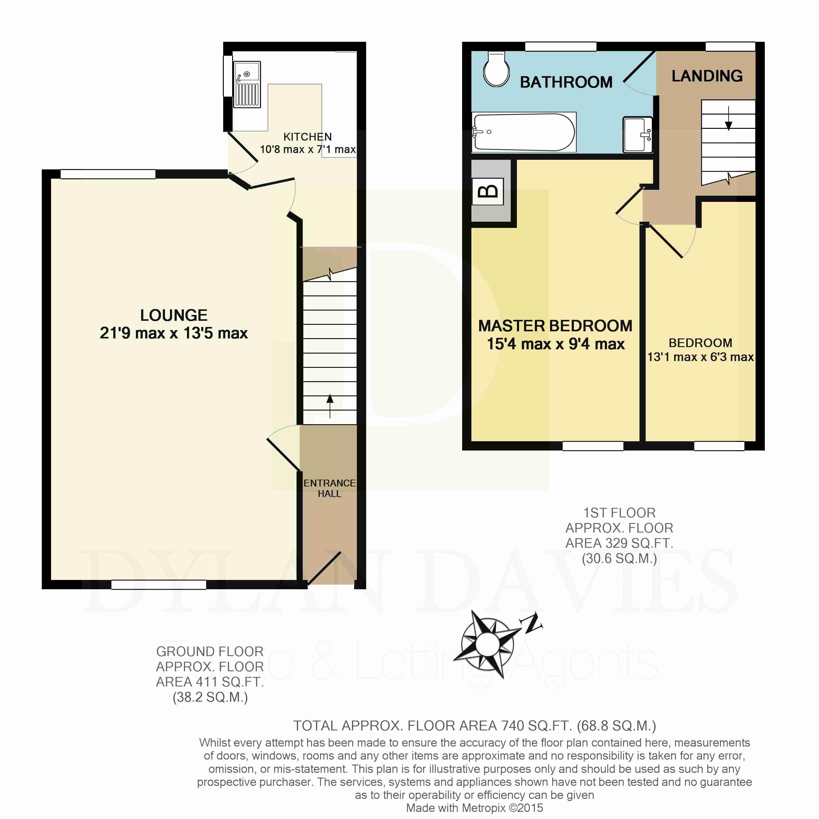 Roundtree Apartments: Castle Ivor Street, Hopkinstown, Pontypridd CF37, 2