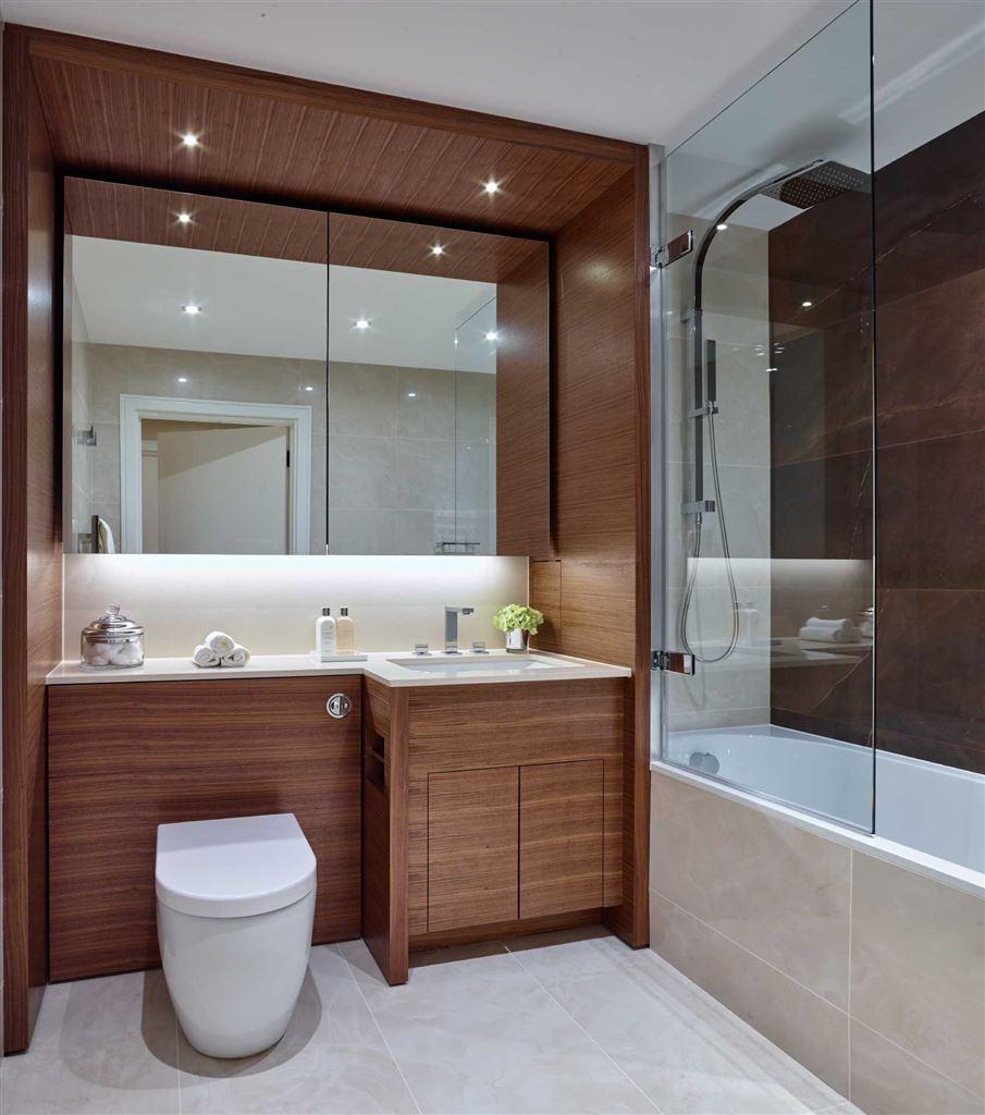 Battersea Reach,Bathroom