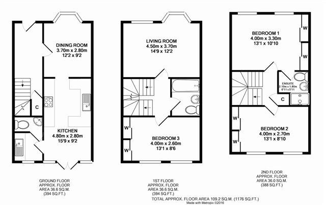 Leyland Road Bathgate Eh48 3 Bedroom Property For Sale