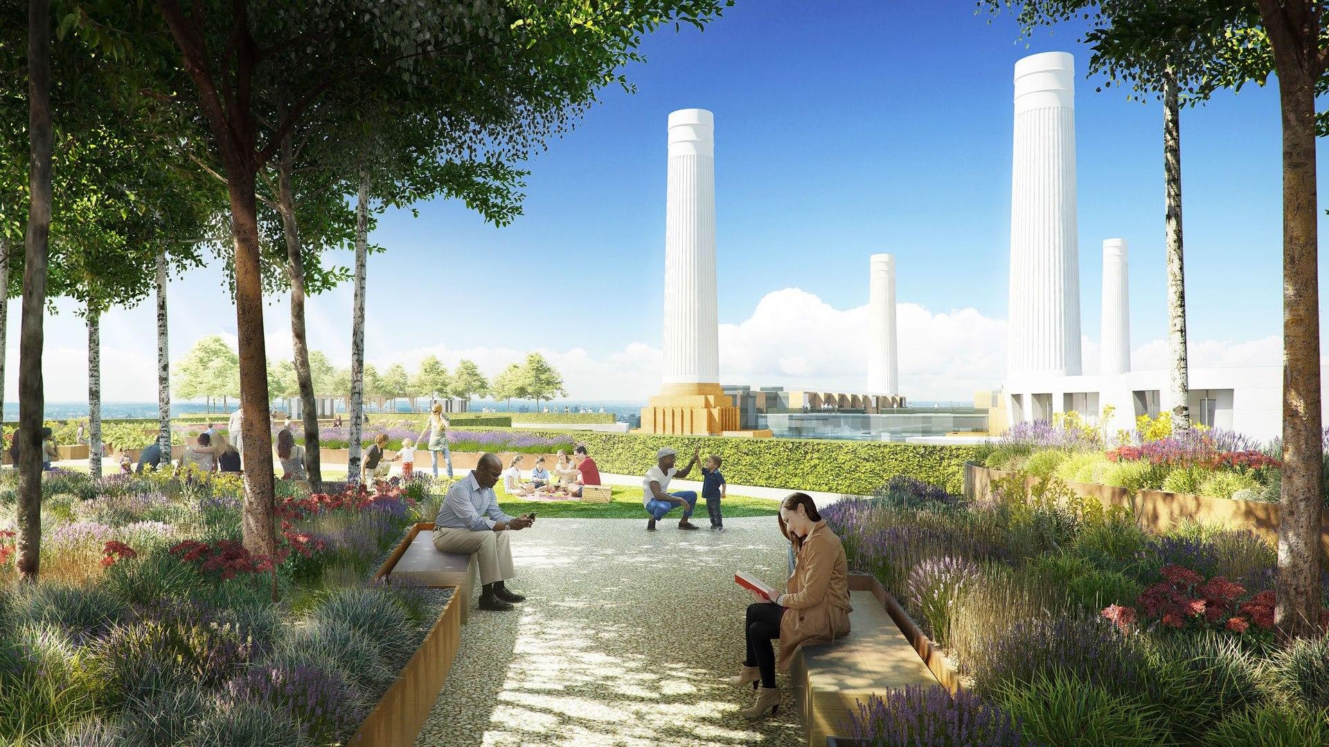 Battersea Power Station,Garden