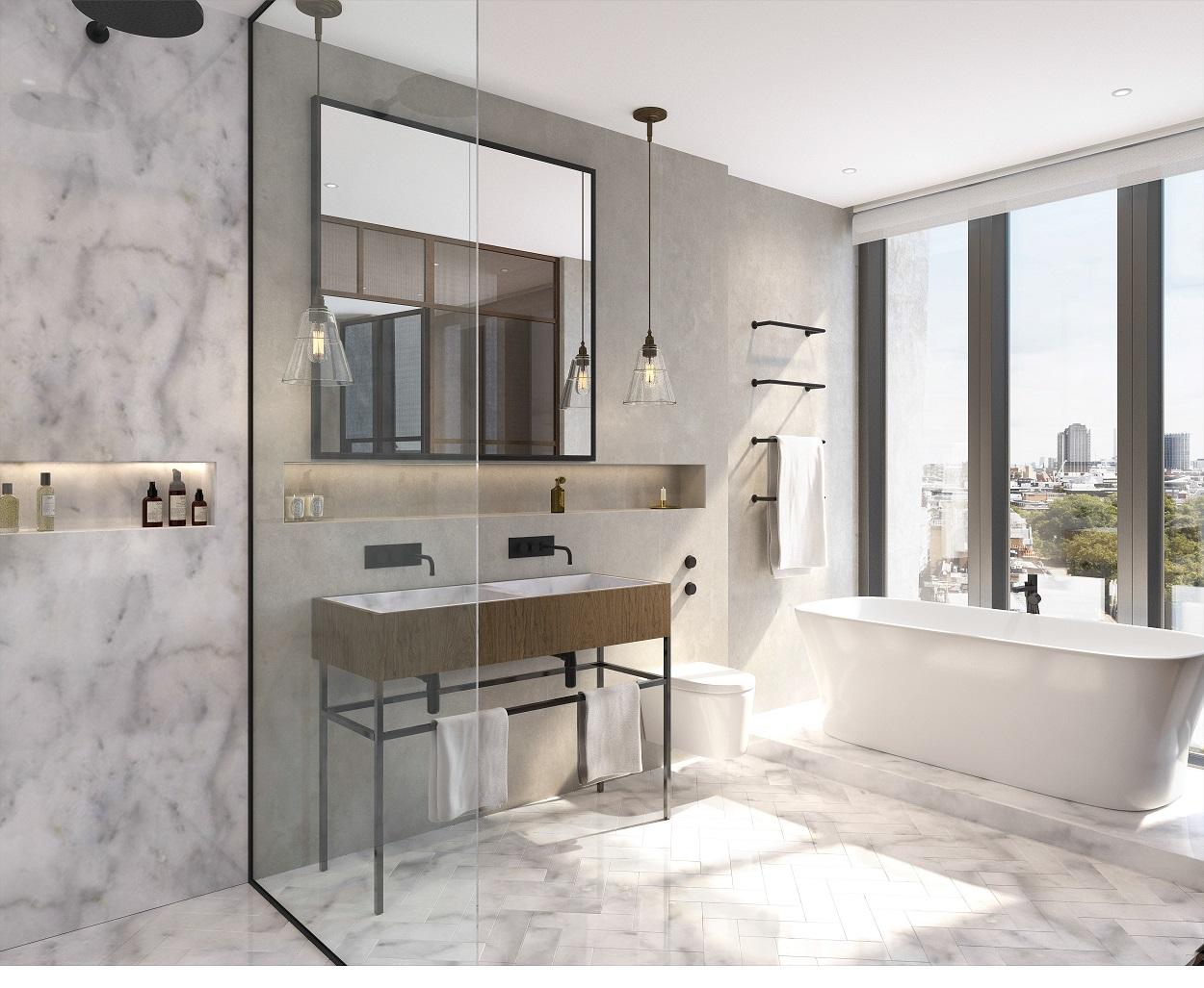 Michaelis Boyd,Bathroom