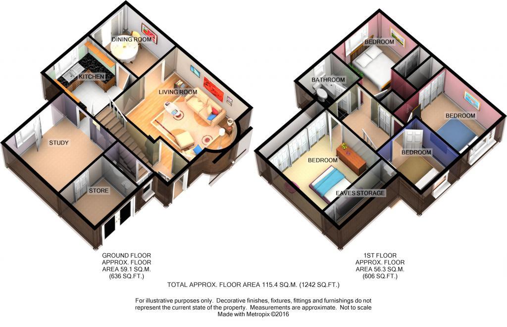 Small crescent buckingham mk18 4 bedroom semi detached for Buckingham choice floor plans