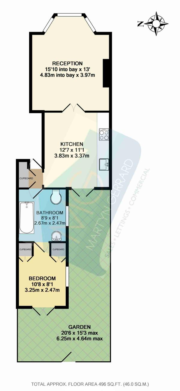 Leverton Street, London NW5, 1 bedroom flat for sale - 36431667 ...