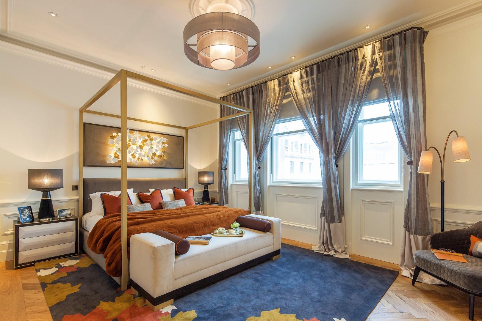 Morpheus London,Master Bedroom