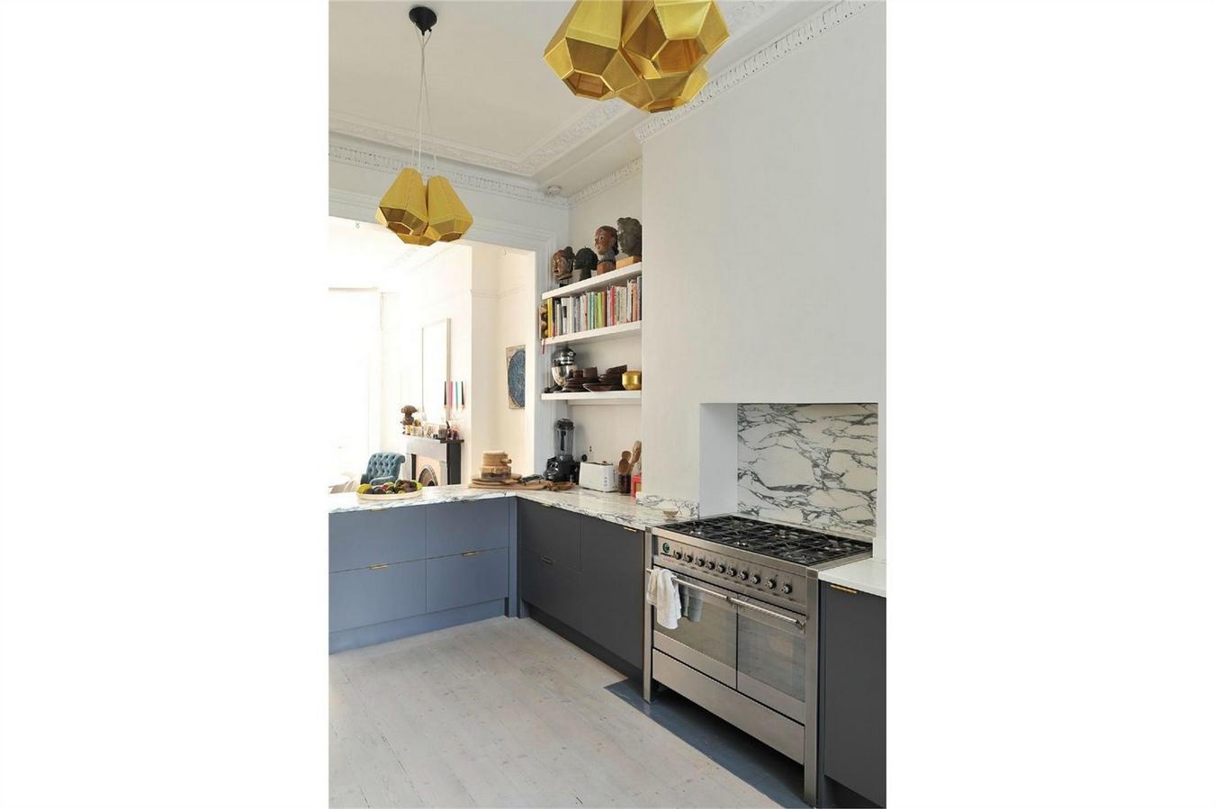 The Modern House,Kitchen