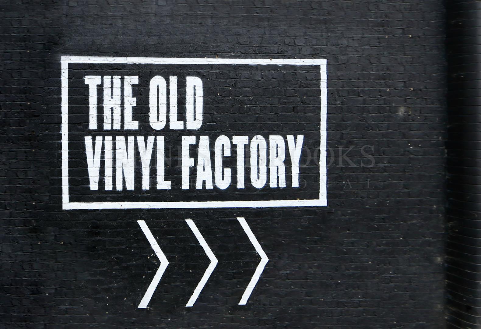 Old Vinyl Factory,Front Elevation