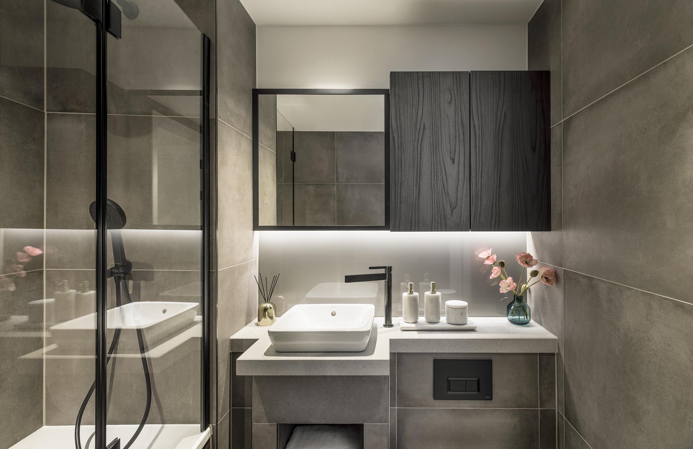 Mount Anvil,Bathroom detail