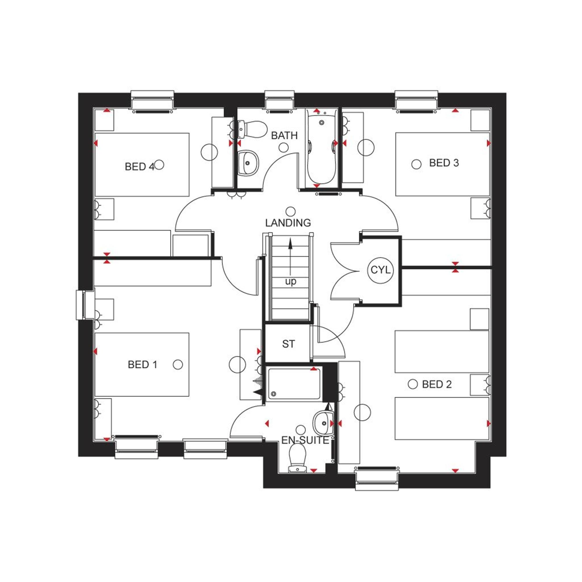 Barratt homes cambridge floor plan as well 48q70h together with 6258805532 additionally Architecture Blueprint Of A House Vector 5048091 moreover Bedroom Bathroom Floor Plan Kitchen Living Room. on free small house plans