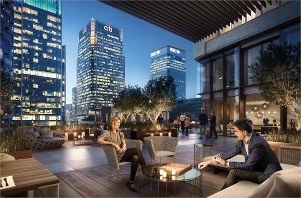 Canary Wharf,Public Space