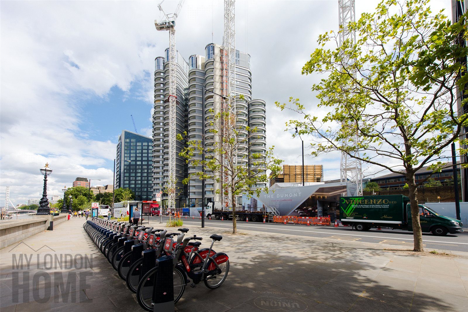 Santander Cycle,Local