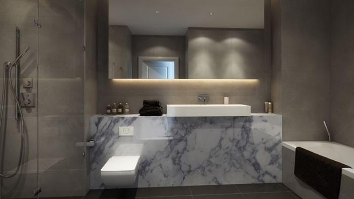 Royal Mint Gardens,Bathroom