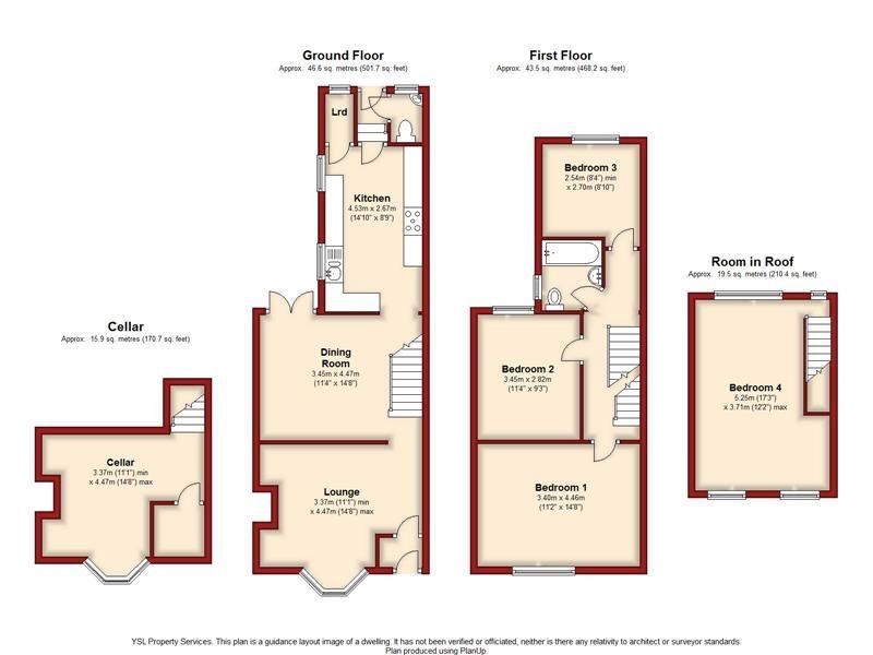 Beresford Road Gillingham Me7 4 Bedroom Terraced House For Sale 40913984 Primelocation