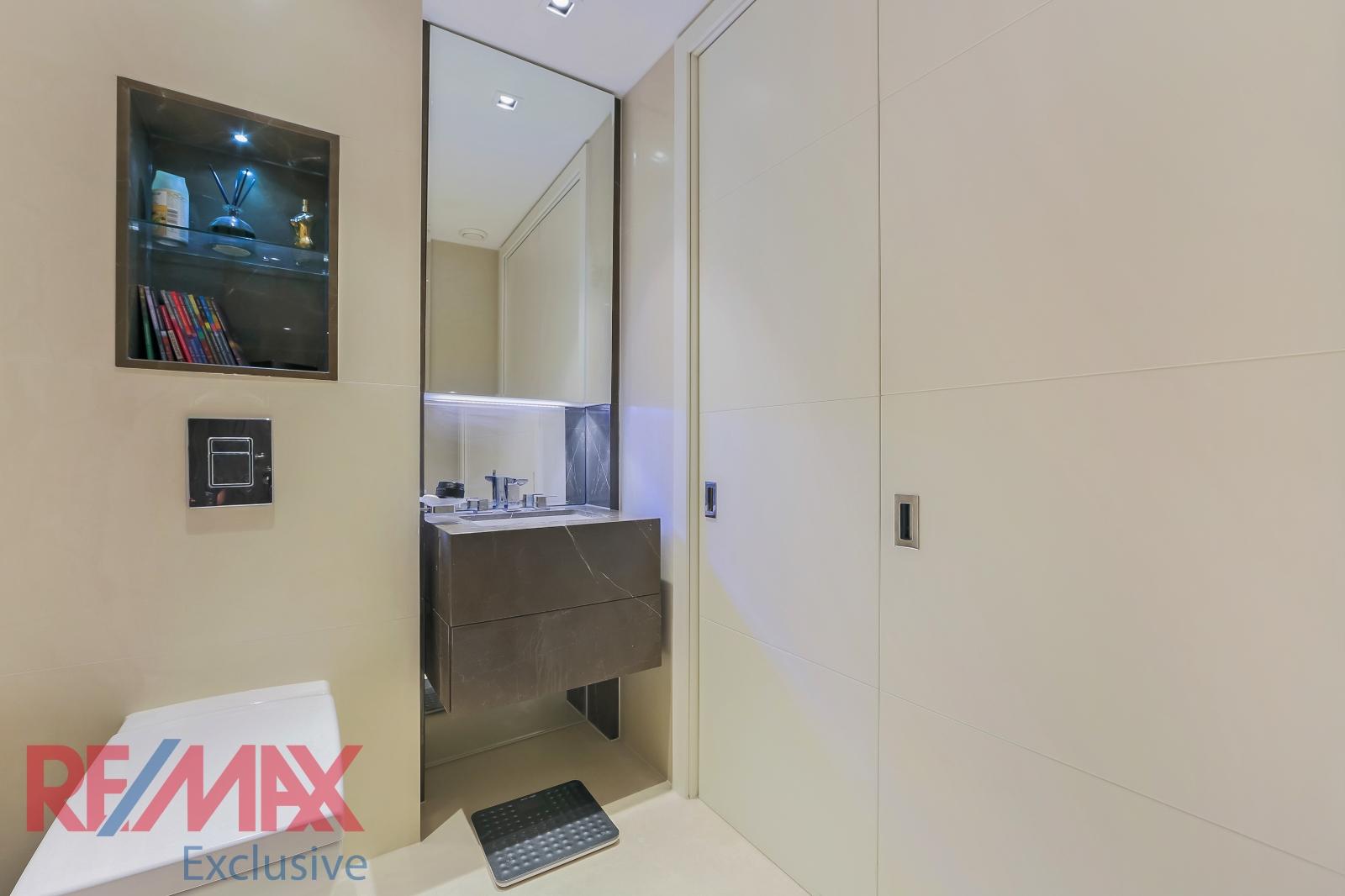 375 Kensington High Street,Bathroom detail