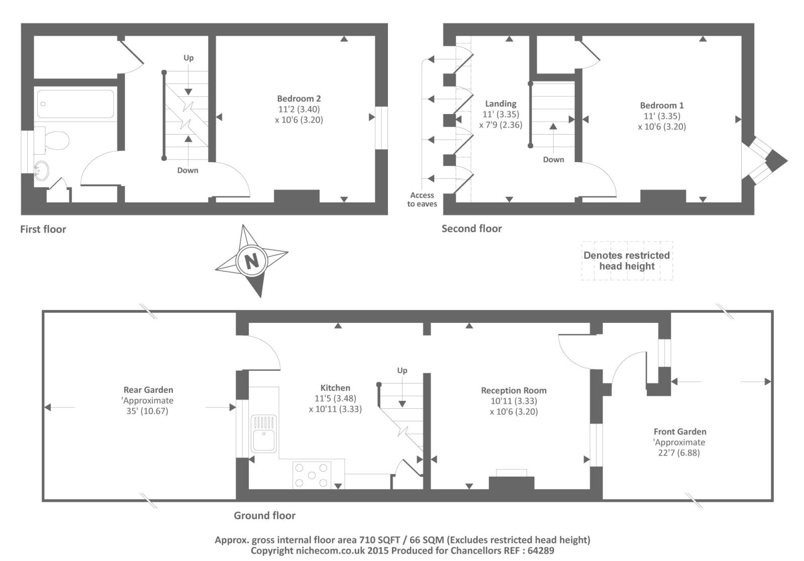 Inkerman terrace chesham hp bedroom terraced house