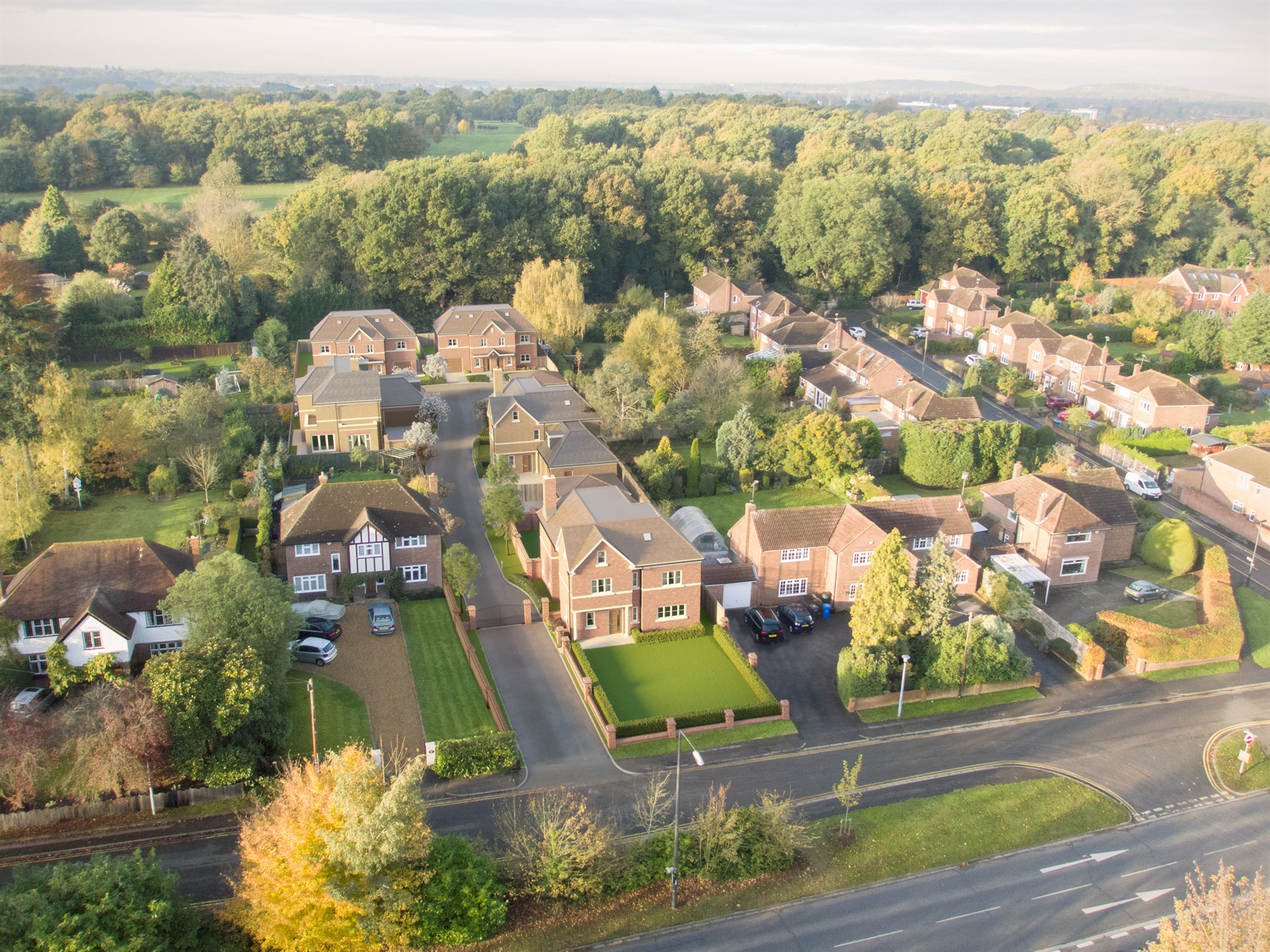 Spitfire Homes,Aerial