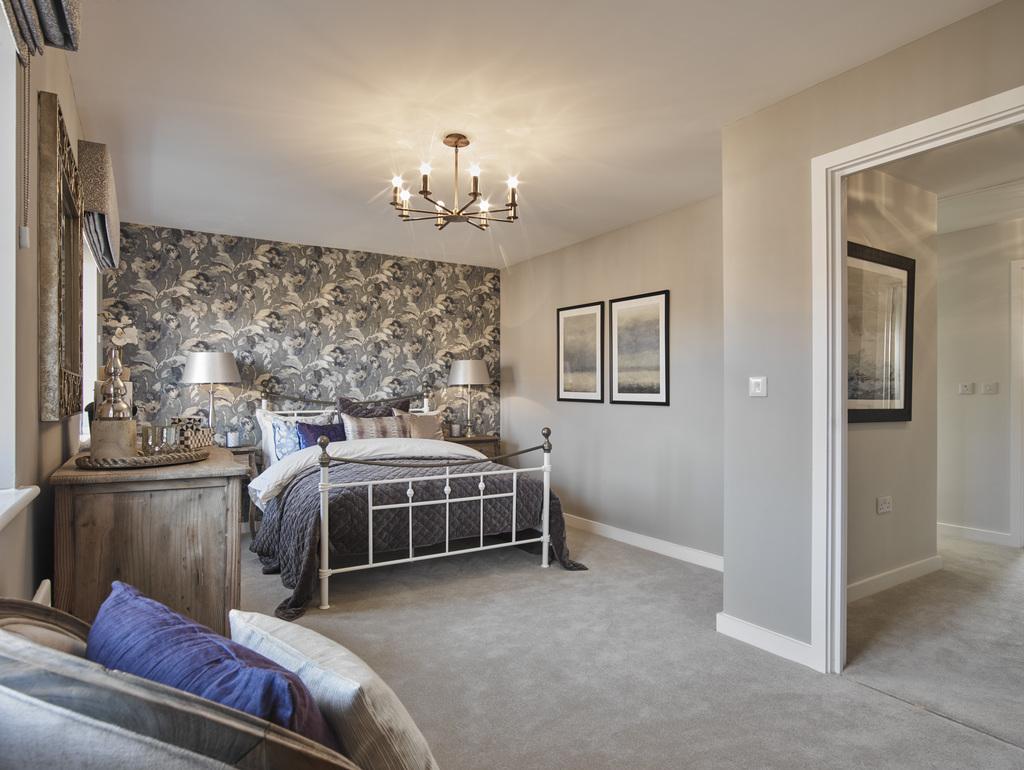 Crest Nicholson,Master Bedroom