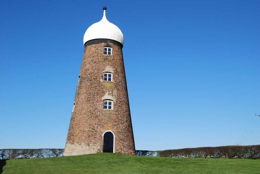 Grade II listed windmill in Doncaster