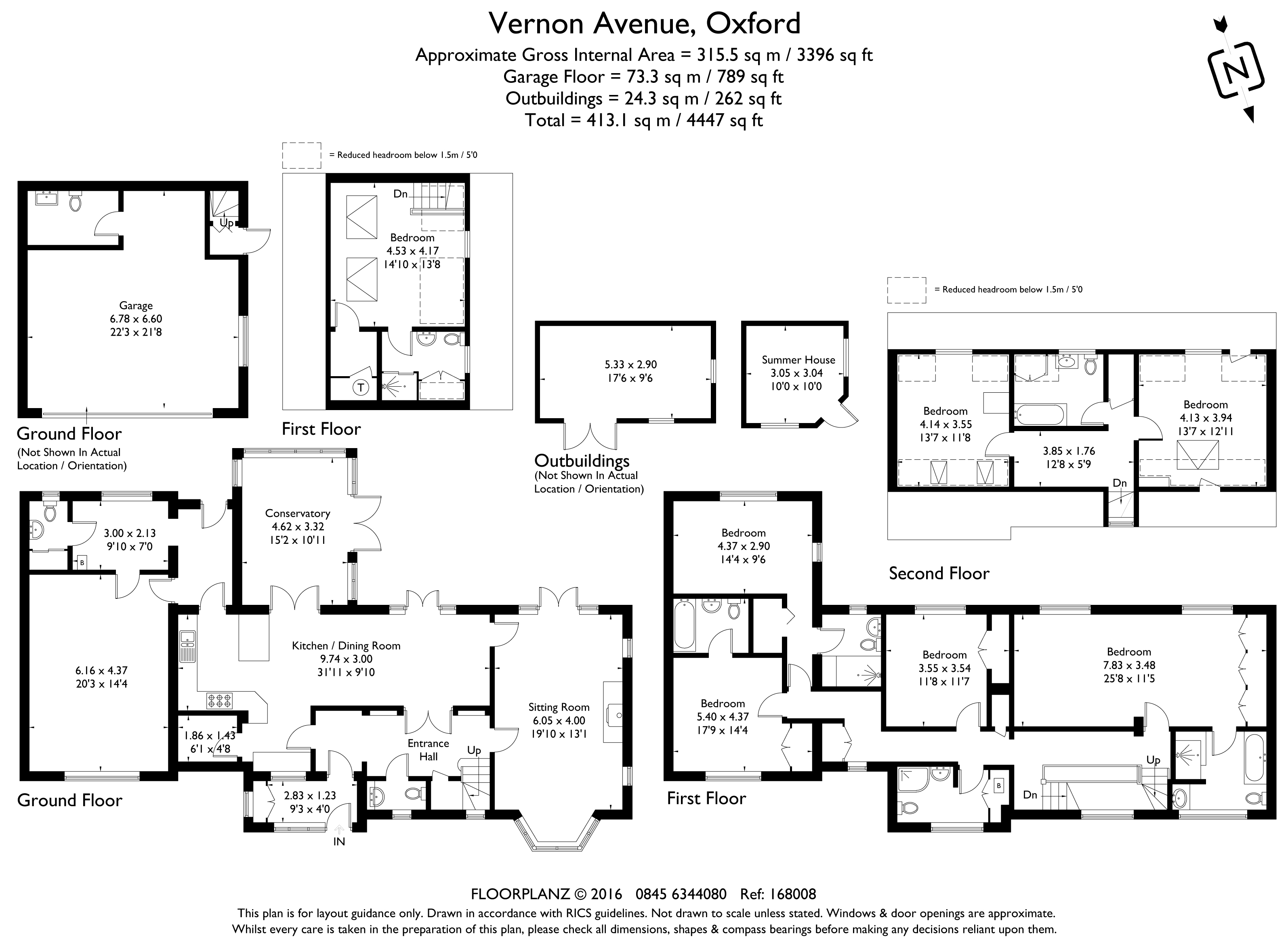 Vernon Avenue Harcourt Hill Oxford Ox2 6 Bedroom Detached House For Sale 40671233