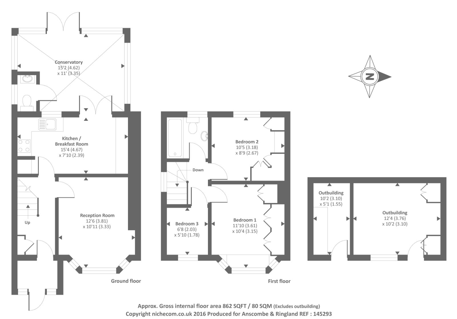 Honeypot lane stanmore ha7 3 bedroom semi detached house for 16 brookers lane floor plans