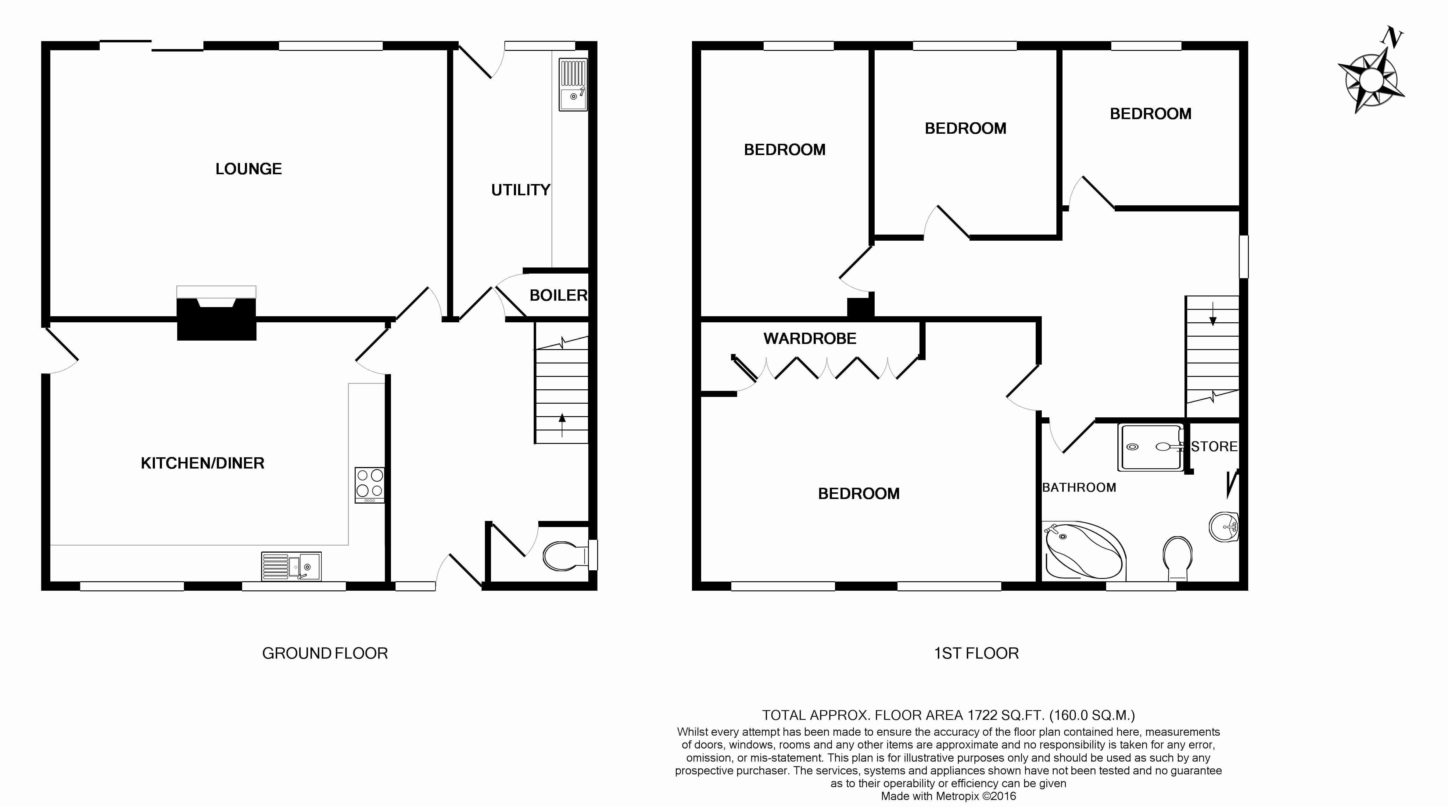 Wood lane stannington sheffield s6 4 bedroom detached for Sheffield floor plan