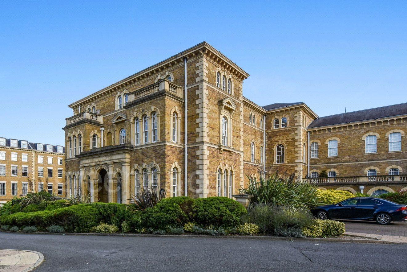 Princess Park Manor,Front Elevation