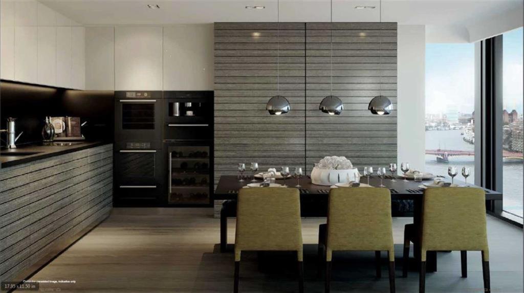 Merano Residences,Dining room