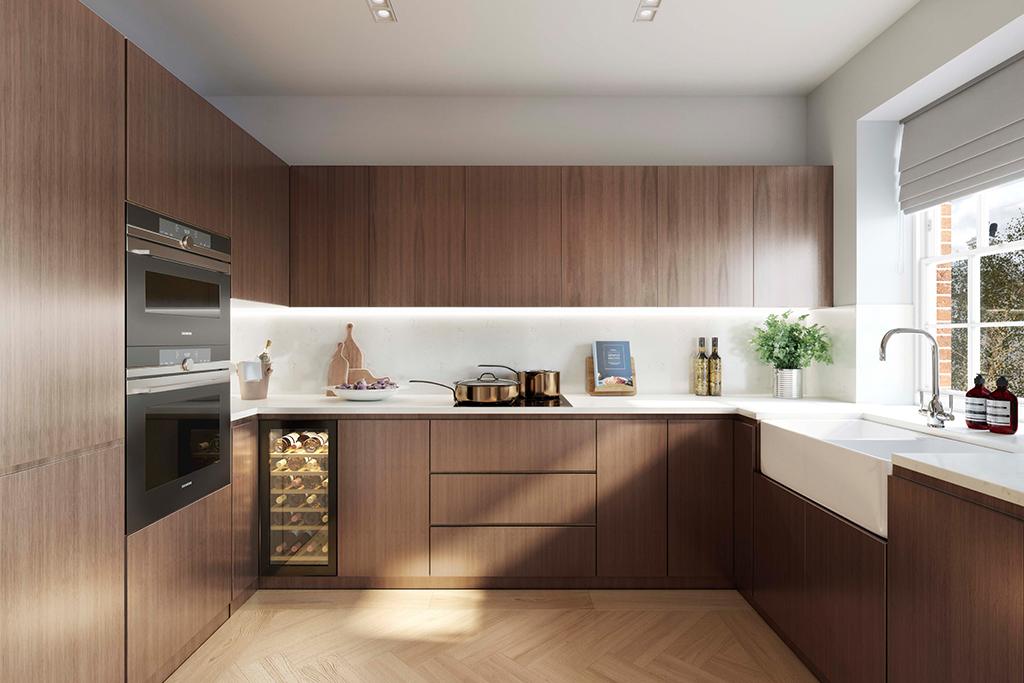 Mount Anvil,Kitchen