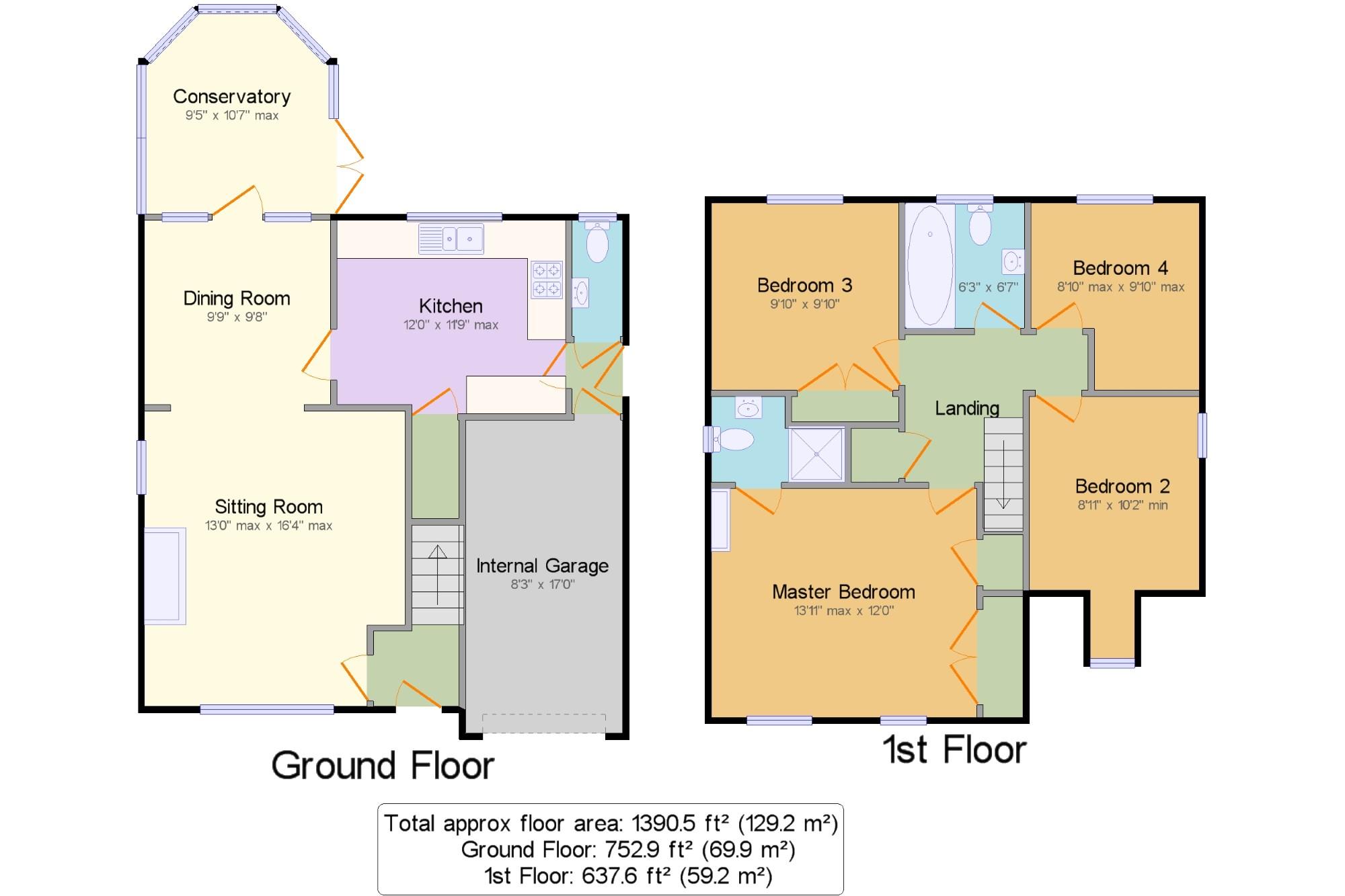 Halesworth Suffolk Ip19 4 Bedroom Detached House For