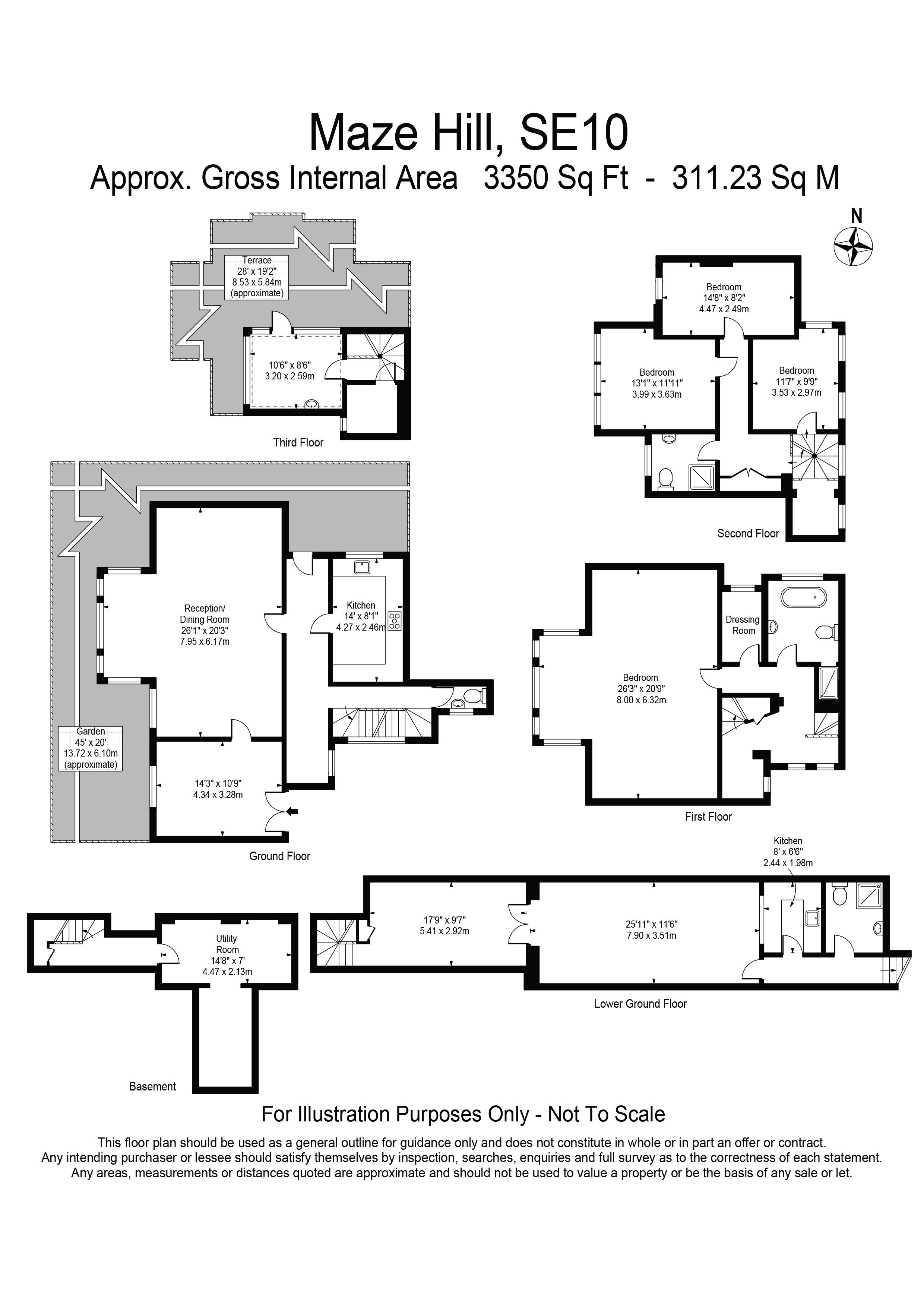 Gatwick Airport Floor Plan Maze Hill London Se10 4 Bedroom Property For Sale