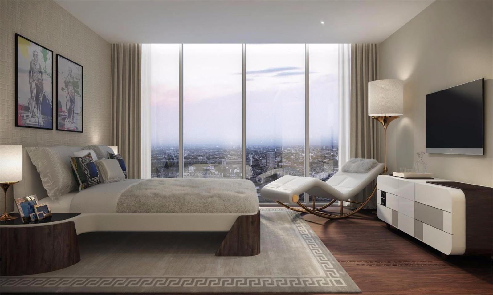 AYKON London One,Master Bedroom